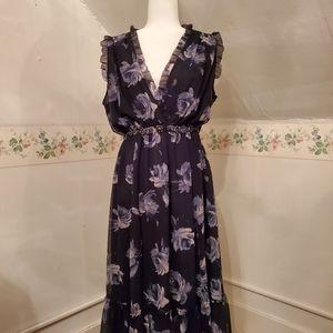 Kate Spade Chiffon Midi Dress (New w/Tags)